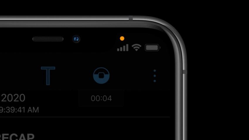 iPhone'da Turuncu / Yeşil Nokta Nedir? Ne İşe Yarar?