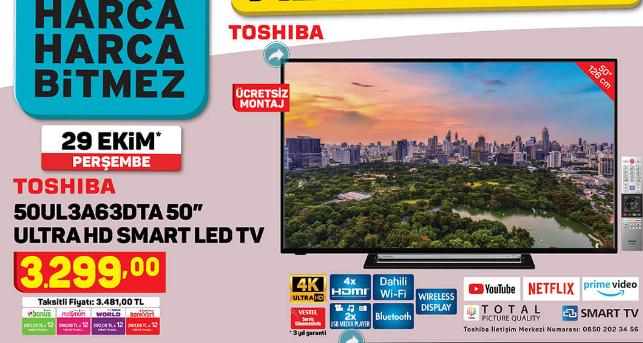 toshiba-50ul3a63dt-50-ultra-hd-smart-led-tv