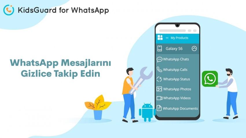 whatsapp mesajlarını gizlice takip edin