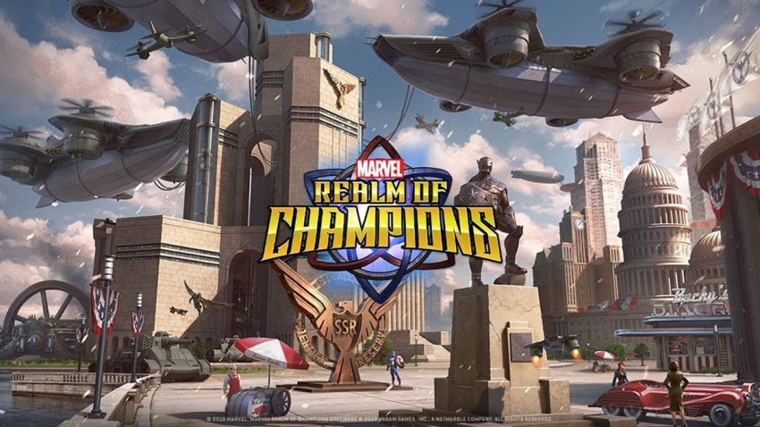 MARVEL Realm of Champions Android ve iOS için Yayınlandı! -1
