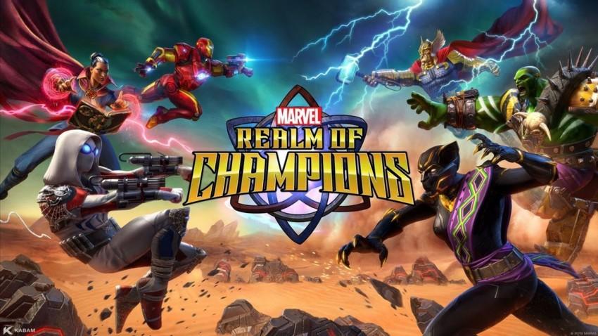 MARVEL Realm of Champions Android ve iOS için Yayınlandı!