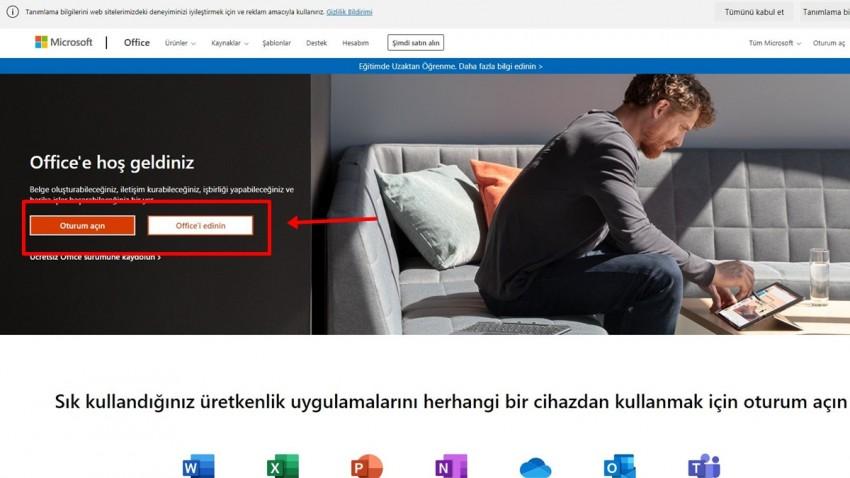 Microsoft Office'i Ücretsiz Kullanmanın Yolları -2