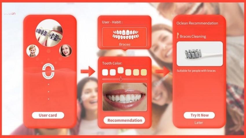 Oclean Xpro Akıllı ve Elektrikli Diş Fırçası -1