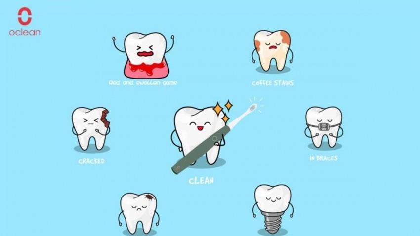 Oclean Xpro Akıllı ve Elektrikli Diş Fırçası -3