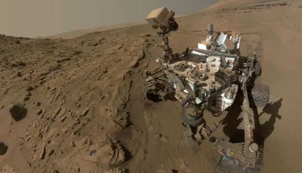 2011: Curiosity Mars Rover