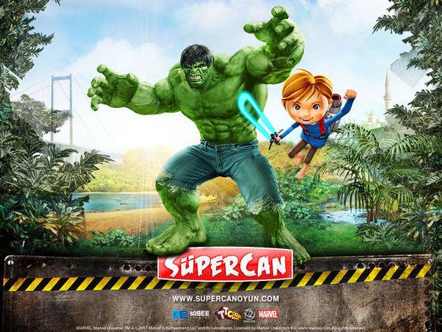 <strong>Hulk ve Süpercan<br></strong>
