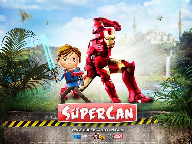<strong>Süpercan ve Iron Man<br></strong>