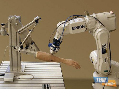 Yaralanma ve Ağrıları Karşı Geliştirilen Robot