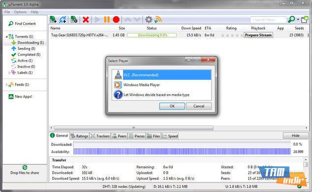 uTorrent Medya Stream