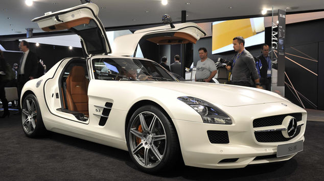 <strong>Mercedes SLS AMG</strong>