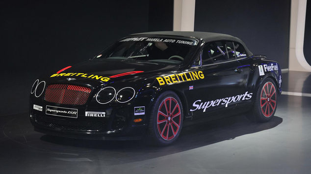 <strong>Bentley Continental SS Convertible Ice Speed Record</strong>