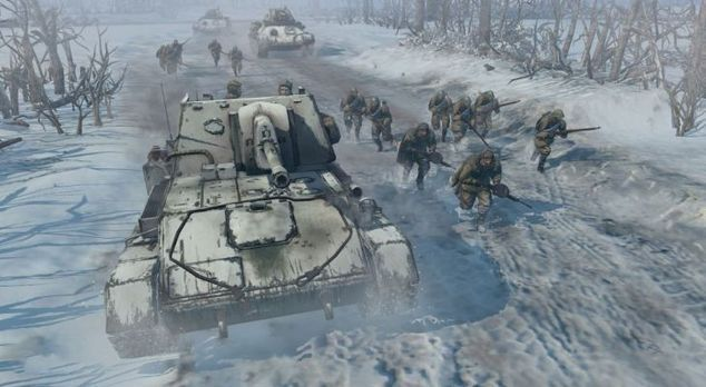 """<p class=""""MsoNormal""""><strong>Company of Heroes 2<o:p></o:p></strong></p>"""