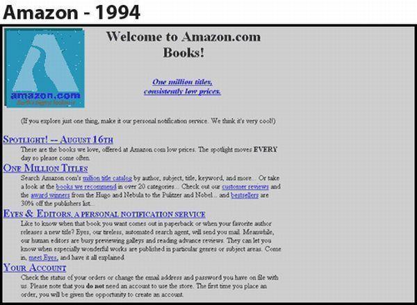 Amazon - 1994