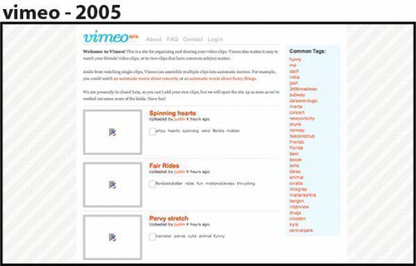 Vimeo - 2005