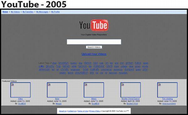 Youtube - 2005