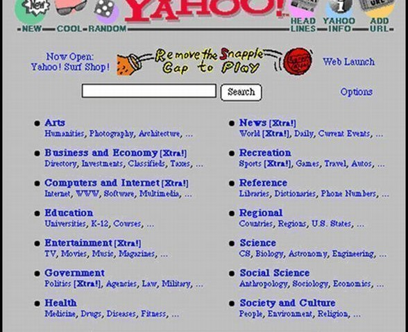 Yahoo - 1995