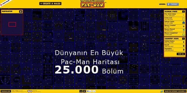 Dünyanın En Büyük Pac-Man Haritası