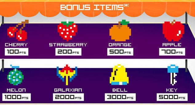Bonus Meyve ve Objeler