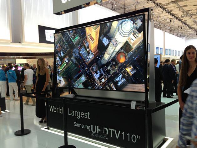 Samsung 110-Inch 4K TV