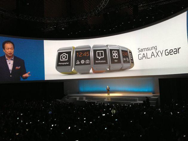 Galaxy Gear Tanıtımı