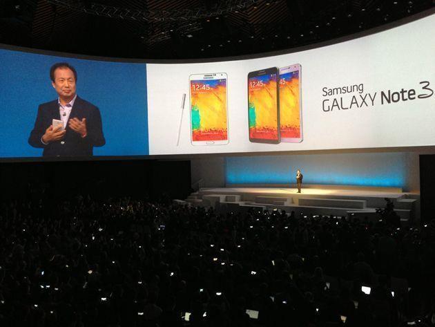 Samsung Galaxy Note 3 Tanıtımı