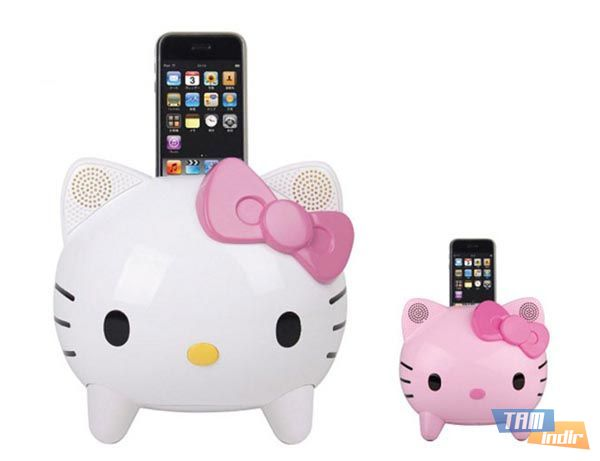 Hello Kitty iPod Dock Speaker