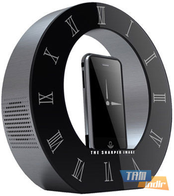 Sharper Image Clock Dock