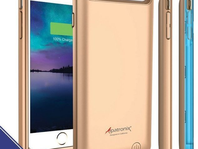 Alpatronix BX140 iPhone 6s Battery Charging Case