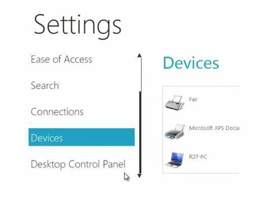 Windows 8 Başlat Menüsü