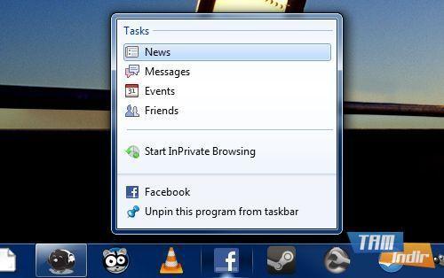 Windows 7 Destekli Uygulama Kısayolları