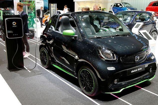 Smart Fortwo Cabrio Electic Drive