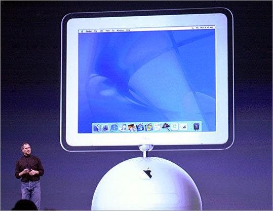 2002yılında Steve Jobs