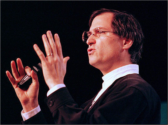 1997yılında Steve Jobs