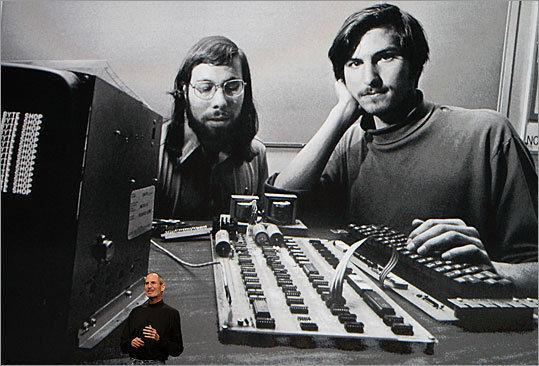 1970 yılında Steve Jobs
