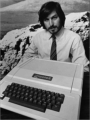 1977yılında Steve Jobs