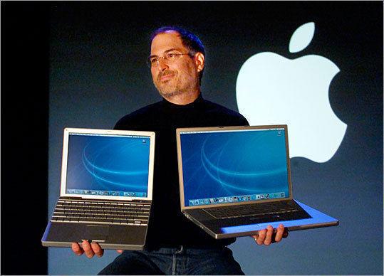 2003yılında Steve Jobs