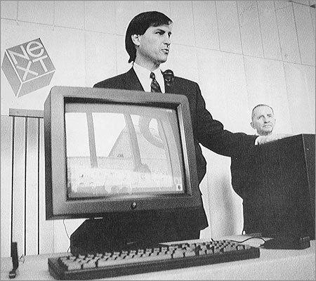 1988yılında Steve Jobs