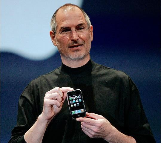 2007yılında Steve Jobs
