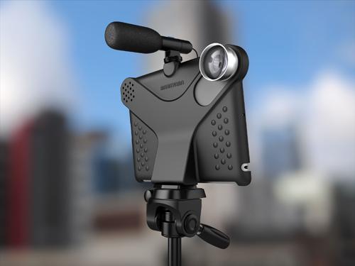 iPad 2'yi Profesyonel Kameraya Dönüştüren Movie Mount Aksesuarı