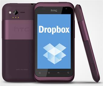 HTC Cihazlar, Ücretsiz 5 GB Depolama Alanlı Dropbox Uygulamasıyla Gelecek