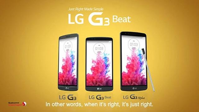 LG G3 Stylus Gün Yüzüne Çıktı