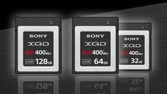 Sony, Yeni G Serisi XQD Bellek Kartlarını Duyurdu