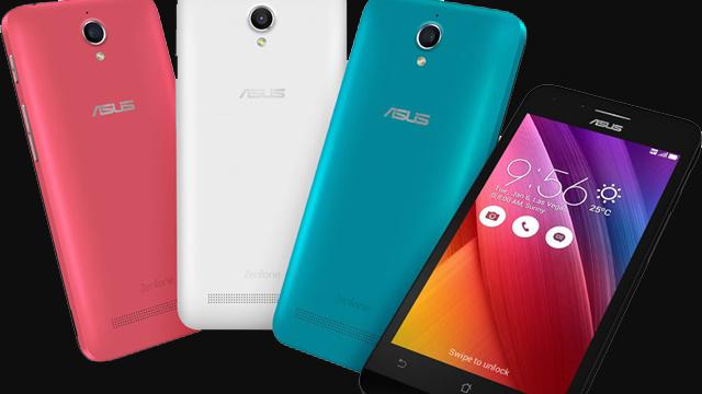 Asus Zenfone Go 4.5 Resmi Olarak Tanıtıldı