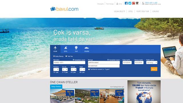 Seyahatçilerin Vazgeçilmezi Bavul.com'un Tasarımı Yenilendi
