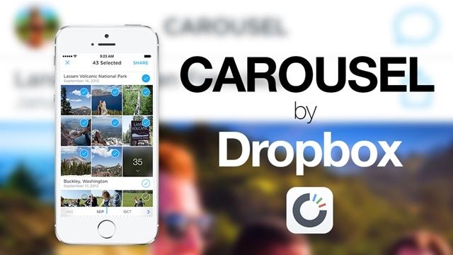 Dropbox Carousel'in iPad ve Web Versiyonları Çıktı