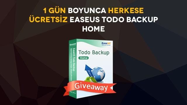 Tamindir'den Ücretsiz ''EaseUS Todo Backup Home'' Kampanyası