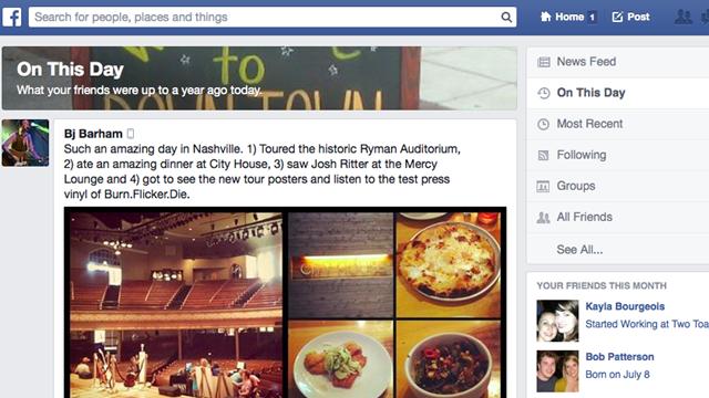 Facebook'un Yeni Özelliği ile Zamanda Yolculuk