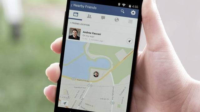 Facebook Mobil ile Yakın Çevrenizdeki Arkadaşlarınızı Görüntüleyebilirsiniz
