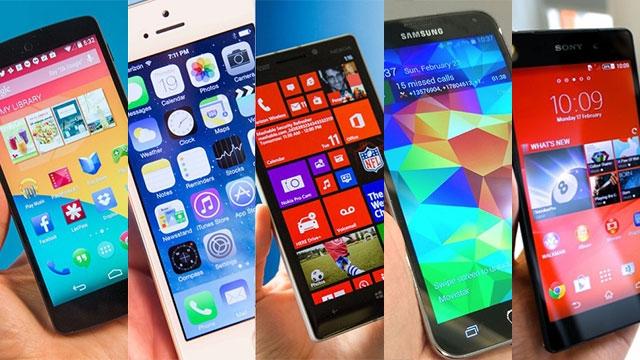Samsung Galaxy S5 ve Rakiplerinin Karşılaştırması