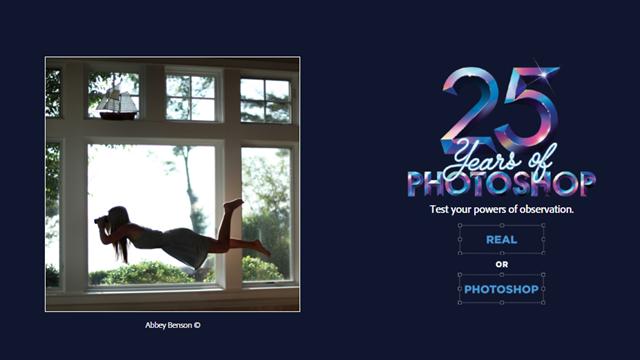 Gerçek Mi? Photoshop Mu? Adobe 25. Yılına Özel Photoshop Oyunu Çıkardı!
